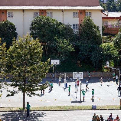 Terrain de basket LFT