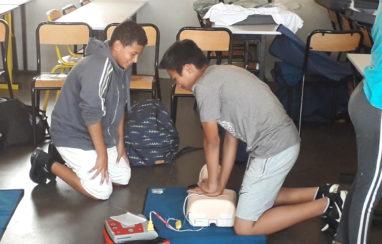 Deux classes de quatrième formées aux premiers secours