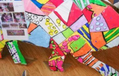 L'exposition d'arts plastiques des maternelles à l'EPFd