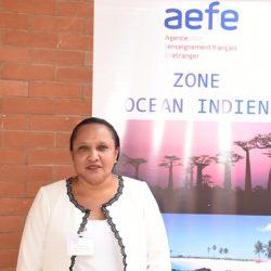 Malala Sylvia RAZAFIONIVELO   Proviseur   La Clairefontaine (Antananarivo)