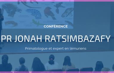 Conférence du Pr Jonah Ratsimbazafy, primatologue expert des lémuriens