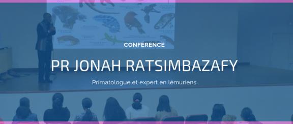 Conférence du Pr Jonah