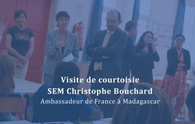 Visite de SEM Christophe Bouchard