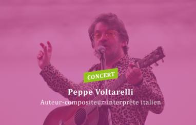 Un air d'Italie au LFT avec le chanteur Peppe Voltarelli
