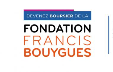 Fondation Francis Bouygues : Décrochez une bourse !