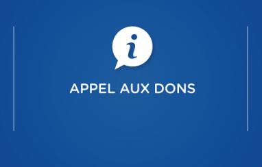 [Solidarité] Appel aux dons