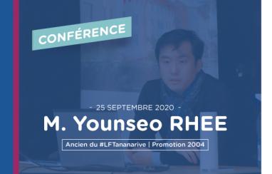 [Orientation] Conférence de M. Younseo RHEE