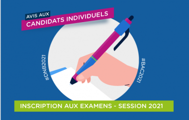 [Candidats individuels] Inscription au DNB et aux EA (session 2021)