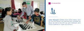 Le jeu d'échecs à l'EPFc