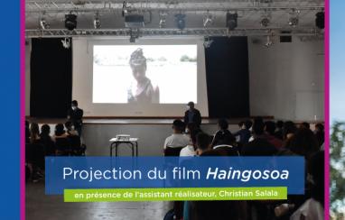 Projection du film Haingosoa