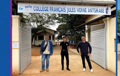 Présentation du LFT au collège français Jules Verne Antsirabe